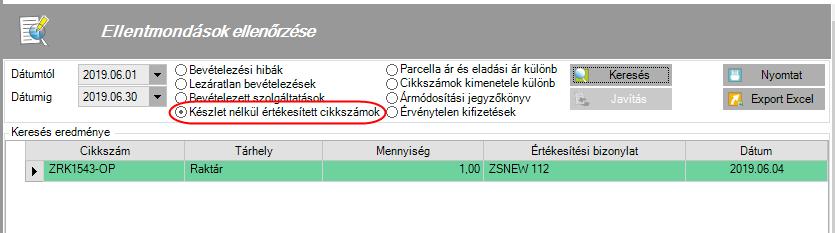opciós árinformációs szolgáltatás)